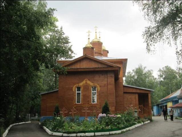 Иннокентьевская кладбищенская церковь, XIX век